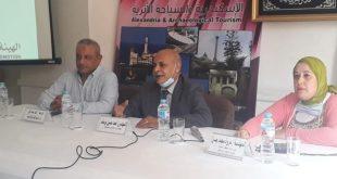 تنشيط سياحة الإسكندرية تنظم ندوة لنشر الوعى والحد من انتشار فيروس كورونا