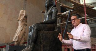 وزير السياحة: نقل أكثر من 54 ألف قطعة أثرية للمتحف المصرى الكبير
