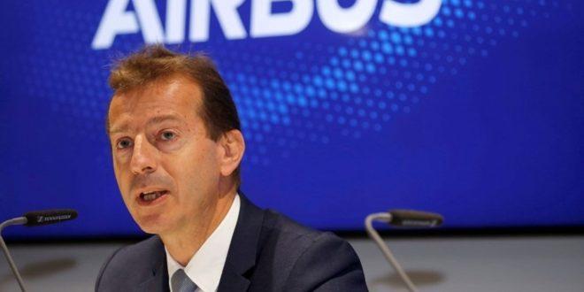 إيرباص تحذر من شطب المزيد من الوظائف بسبب التراجع الكبير في حركة السفر