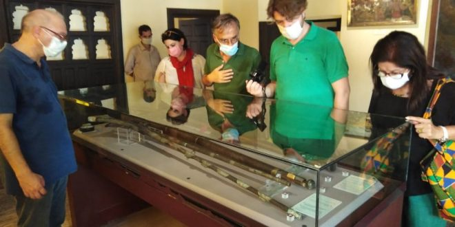 متحف رشيد الوطني يستقبل مدير الدراسات بالمعهد الفرنسى للآثار الشرقية