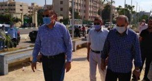 محافظ الشرقية يوجه بسرعة الانتهاء من أعمال الممشى السياحي بمدينة الزقازيق
