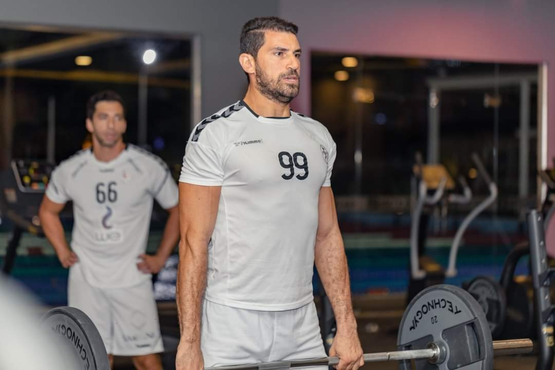 منتخب اليد يخوض مرانه الأول في معسكر الغردقة استعداد لبطولة العالم .. صور2