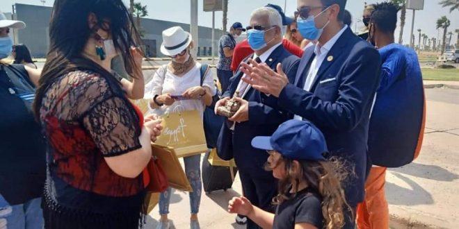 وصول أولي رحلات الشارتر من ارمينيا الي شرم الشيخ