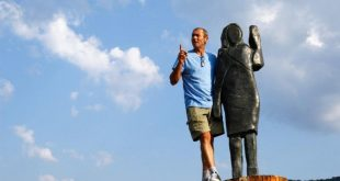 بالصور.. تمثال من البرونز للسيدة الأمريكية الأولى بدلًا من المحروق