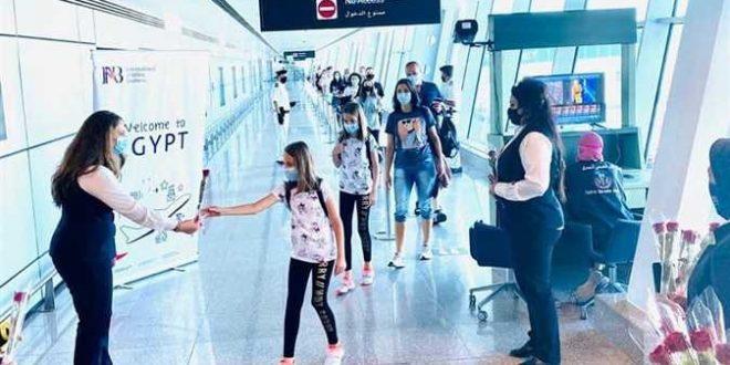 الغردقة تستقبل 4 رحلات من أوكرانيا وبيلاروسيا وصربيا على متنها 600 سائح