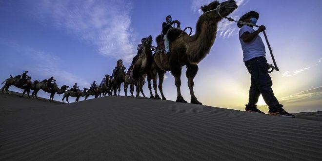 تحويل أكبر صحراء في الصين لمنطقة جذب سياحى