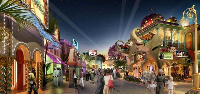 الإمارات الأسرع نمواً فى سوق المتنزهات الترفيهية بالعالم