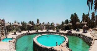 استكمال مشروع تطوير طريق حمام موسى السياحي بمدينة الطور