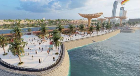 جزيرة النورس .. وجهة سياحية جديدة فى السعودية ضمن مبادرة أنسنة المدن