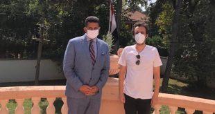 سفير مصر ببلجراد يلتقى مخرجا الفيلمين الصربيين المرشحين لمهرجان الجونة1