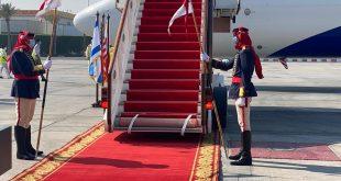 طائرة إسرائيلية تخترق الأجواء السعودية وتهبط فى البحرين .. ننشر صور الوصول4