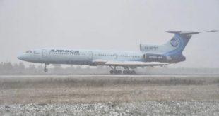طائرةتو 154 تطلق صرخة الوداع بعد 60 سنة من المهام الصعبة