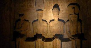 غدا .. الشمس تشرق على وجه رمسيس الثاني داخل معبد أبو سمبل بأسوان