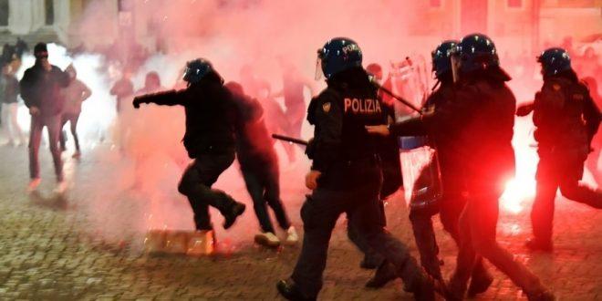 غضب وتظاهرات في إيطاليا .. الجميع لم يعد يؤمن بجدوى التدابير
