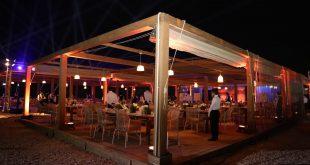بيوت خبرة عالمية شاركت فى التصميمات الهندسية لمطعم ناين بيراميدز لاونج