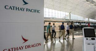 كورونا يطيح بأكثر من 8 آلاف وظيفة في خطوط طيران كاثاي باسيفيك