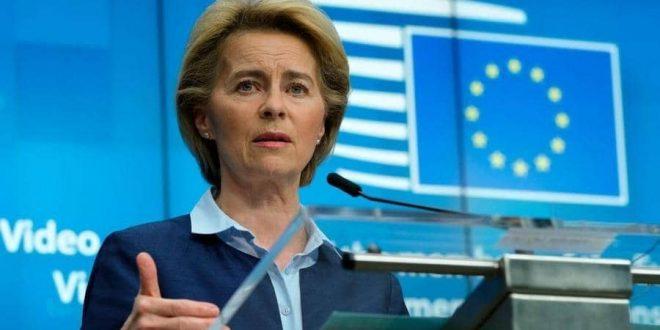 رئيسة المفوضية الأوروبية في الحجر الصحي بعد مخالطة مصاب بكورونا