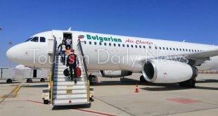 الغردقة تستقبل أولى الرحلات السياحية من بلغاريا تقل 118 راكباً