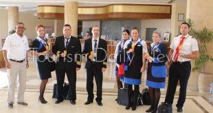 مرسي علم تستقبل أولى الرحلات السياحية من التشيك على متنها 178 راكباً