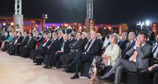 ساويرس يفتتح أول مطاعمه البيئية فى الأهرامات بحضور وزير السياحة و50 سفيراً