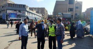 أسيوط تشن حملات لإزالة الاشغالات بالشوارع والميادين والمراكز والأحياء