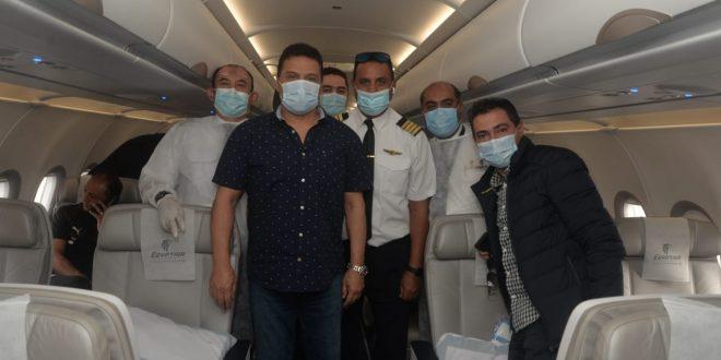 مصرللطيران تؤكد إيجابية فحص كورونا لأحد موظفيها المرافقين لبعثة المنتحب