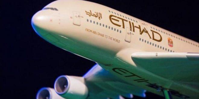 الاتحاد للطيران تقلص خسائرها إلى 400 مليون دولار في النصف الأول من العام