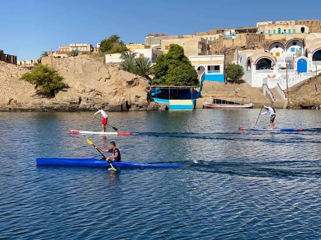 البطولة الدولية لرياضة التجديف الكاياك تختتم فعالياتها بمدينة أسوان3