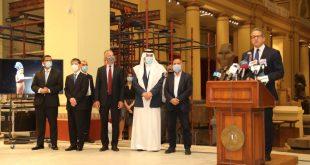 السياحة تحتفل بمرور 118 سنة على افتتاح المتحف المصري بحضور السفير الأمريكي