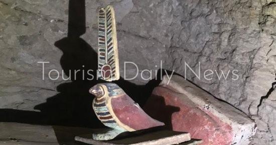 السياحة تعرض فيلماً تسجيلياً عن الاكتشافات الآثرية الجديدة فى منطقة سقارة