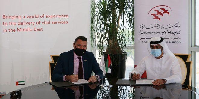 الشارقة تختار سيركو الشرق الأوسط لتقديم خدمات الملاحة الجوية للمطار