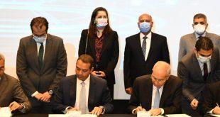 توقيع عقد تأسيس نيرك لصناعات السكك الحديدية بمنطقة السويس الاقتصادية