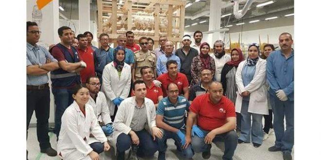 فريق المشروع المصري الياباني يفوز بجائزة كأحسن مشروع تعاون