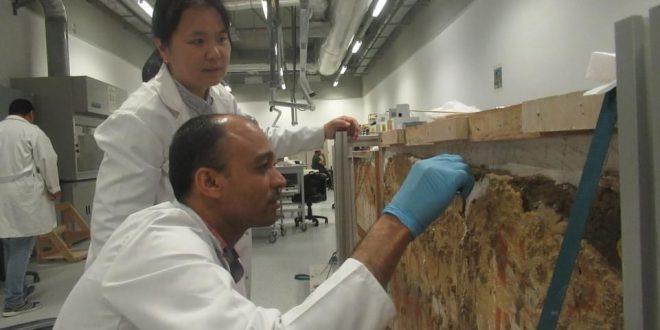 فوز مشروع حفظ وترميم الآثار بالمتحف الكبير بجائزة يوميوري للتعاون الدولي1