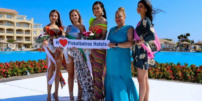 متسابقة جنوب أفريقيا تفوز بلقب ملكة جمال الشواطئ فى الغردقة