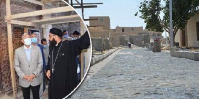 محافظ المنيا ,, مسار العائلة المقدسة من أهم المشروعات وله عائد سياحي كبير