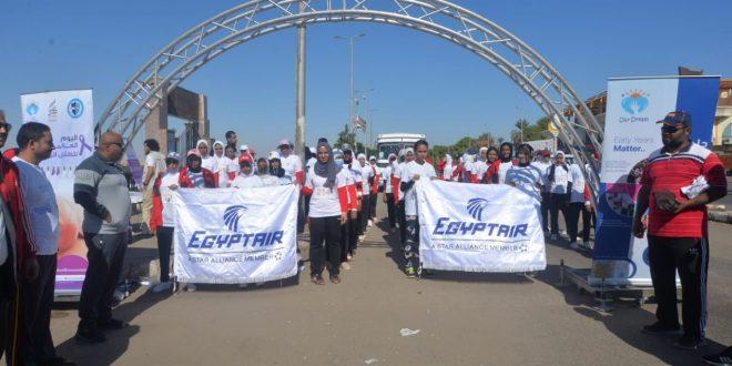 مصر للطيران الناقل الرسمى للاحتفال السنوي الثالث باليوم العالمي للطفل المبتسر1