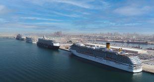 ميناء راشد يحتفظ بلقب ميناء الرحلات البحرية الرائد في العالم