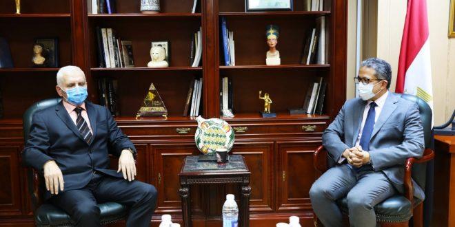 وزير السياحة يبحث تبادل الخبرات مع البوسنة والهرسك في ترميم المتاحف