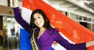 وصول ملكة جمال باراجوای للمشاركة فى مسابقة ملكات جمال السياحة بالغردقة