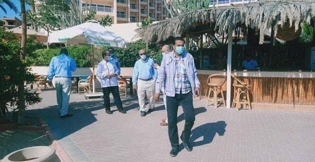 حملات تفتيشية موسعة على الفنادق والمنتجعات السياحية بالبحر الأحمر