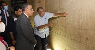 الفقي يؤكد علي إبراز الجمال الأثري والتاريخي لسوهاج