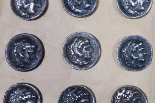 رفح تحبط تهريب 9 عملات معدنية كانت بحوزة أحد المسافرين