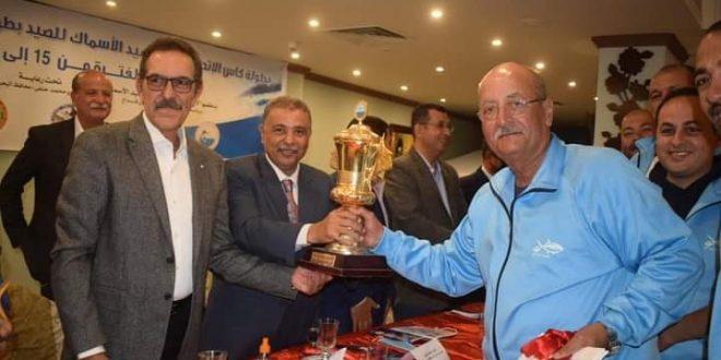 انتهاء فعاليات بطولة كأس الاتحاد لرياضة صيد الأسماك بالغردقة