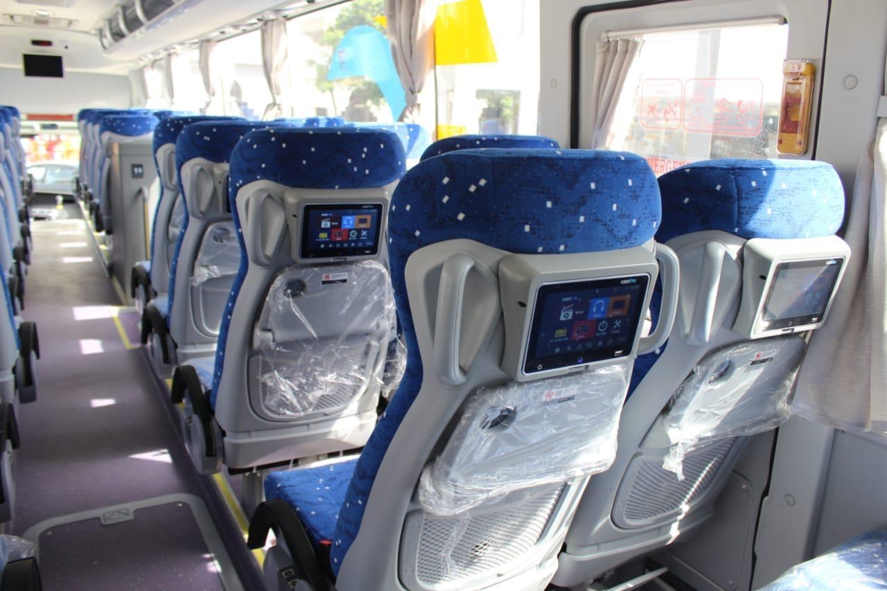 قطاع الأعمال يكشف عن خدمة جديدة لنقل الركاب واستلام 20 أتوبيساً جديداً