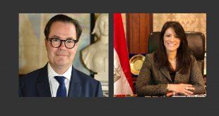 المشاط تبحث مع سفير فرنسا بالقاهرة دعم تمويل عدد من المشروعات منها الآثار