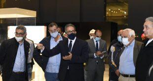 متحف عواصم مصر بالإدارية جاهز لعرض القطع الآثرية ويستقبل سجادتين فارسيتين