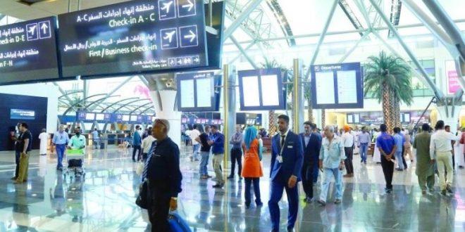 حركة السفر عبر مطارات عُمان تتراجع 71%