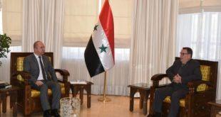 وزير السياحة السورى يدعو الكوبيين للاستثمار