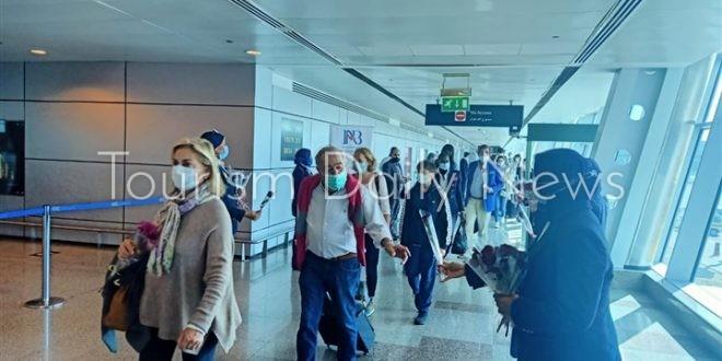 وصول أولى رحلات الخطوط الجوية السويسرية للغردقة